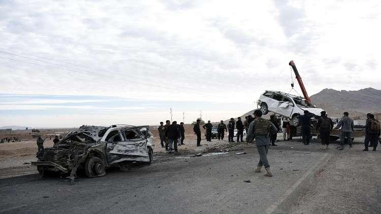 مقتل 8 أشخاص بتفجير سيارة مفخخة جنوبي أفغانستان