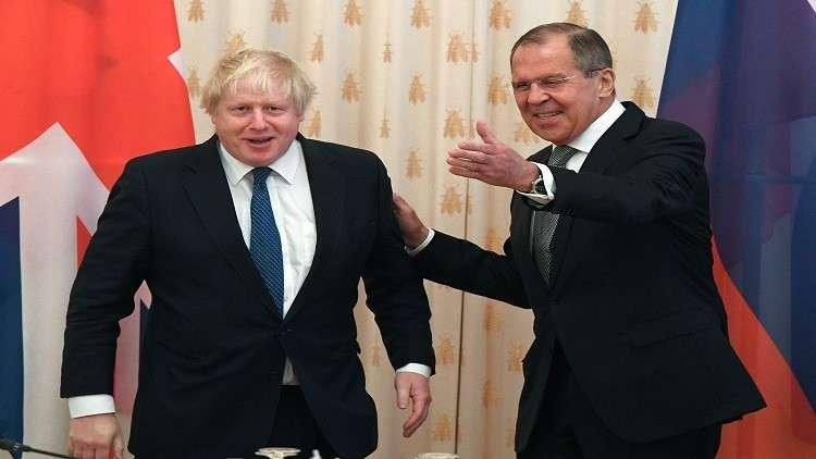 لافروف يحدد لنظيره البريطاني الفرق بين