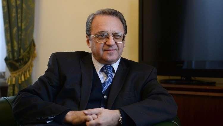 بوغدانوف يبحث مع السفير الإسرائيلي الوضع في الشرق الأوسط