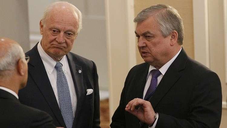 موسكو: مباحثات جنيف المقبلة تعقد 21 يناير ويليها لقاء سوتشي