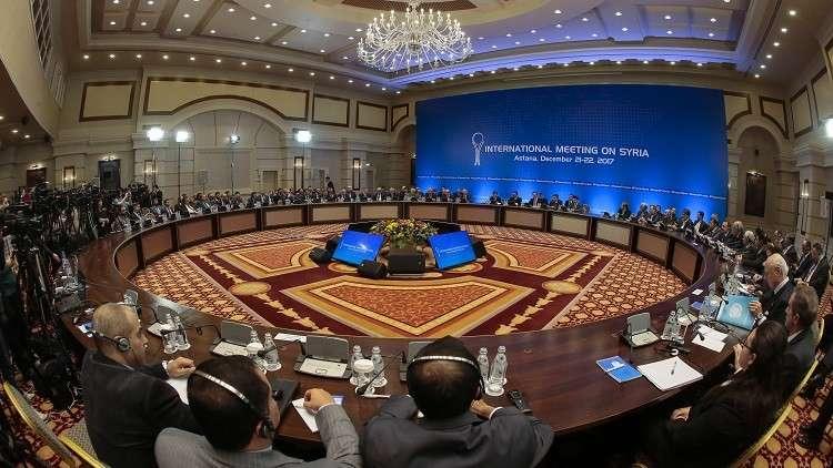 جدول جولات التفاوض المرتقبة حول سوريا