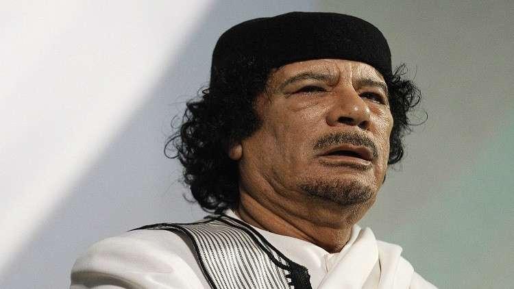 القذافي تنبأ بالأزمة الأوكرانية قبل وقوعها