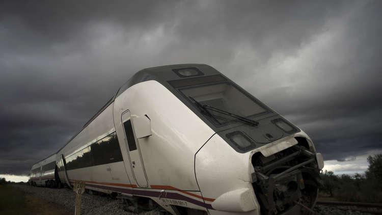 إصابة 40 شخصا بحادث قطار في مدريد