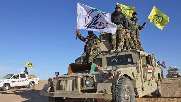 الحشد الشعبي يتحرك صوب الحدود مع سوريا