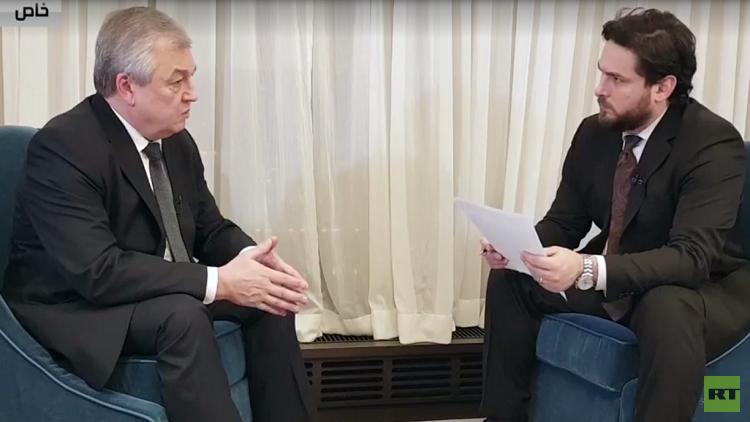لافرينتييف لـ RT: موسكو اقترحت على واشنطن أن تكون طرفا ضامنا في محادثات أستانا لكنها رفضت