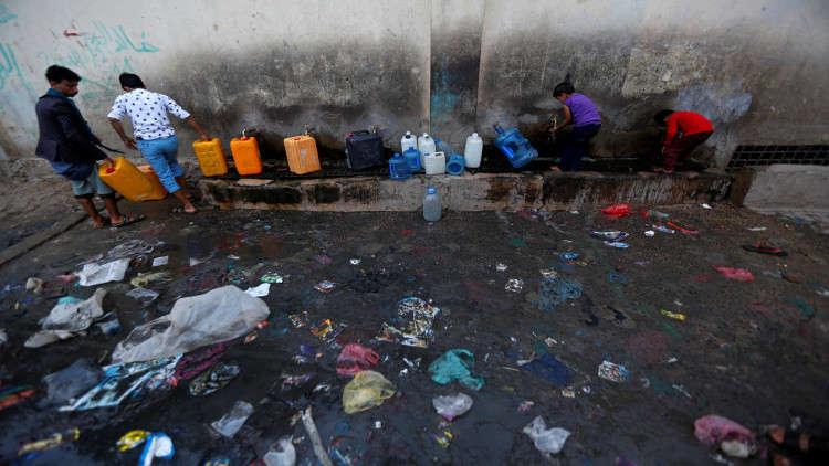 التحالف العربي يصف تقرير الصليب الأحمر حول الكوليرا في اليمن بـ