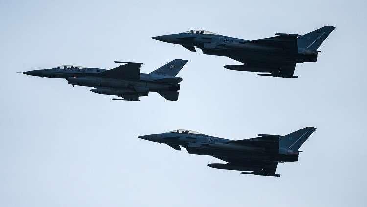 سلاح الجو البريطاني يتدرب على طائرة ماي لاعتراض القاذفات الروسية!