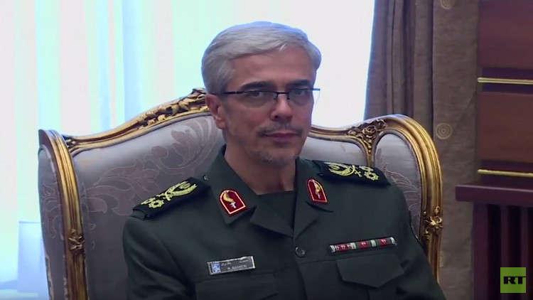 رئيس أركان الجيش الإيراني يهنئ نظراءه في العالم بميلاد المسيح