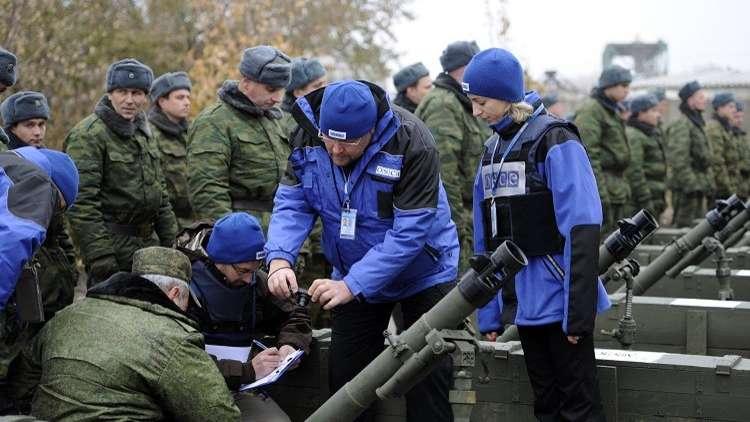 باريس وبرلين ووارسو تدعو موسكو لإعادة مراقبيها العسكريين إلى دونباس