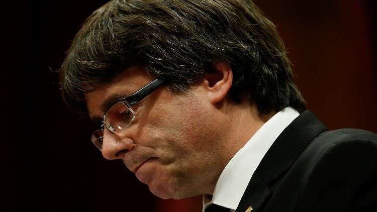 رئيس كتالونيا المقال يدرس العودة إلى الإقليم