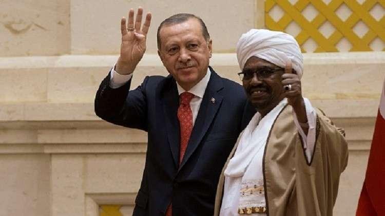 البشير يصف تركيا بأنها