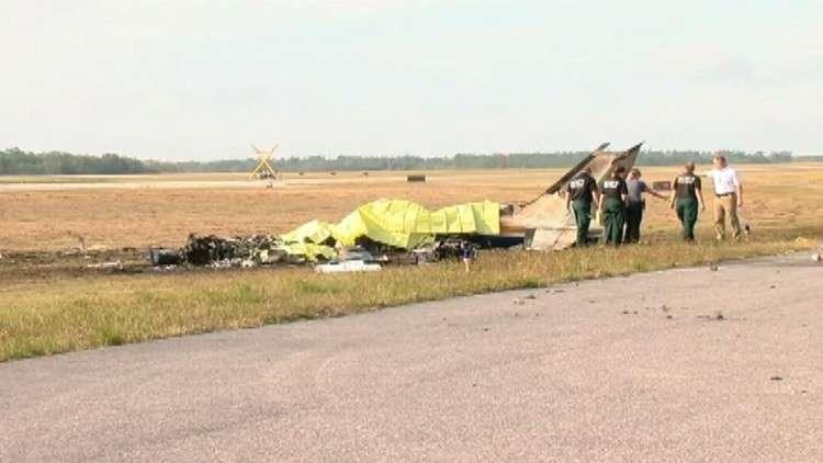 مقتل خمسة في حادث تحطم طائرة بولاية فلوريدا الأمريكية