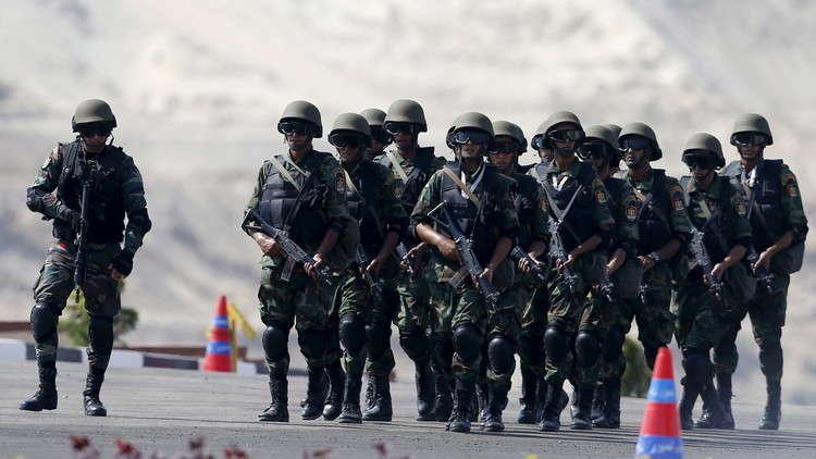 الجيش المصري: القضاء على 8 إرهابيين في سيناء
