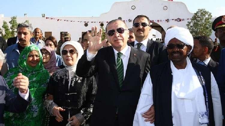 أردوغان في جولة بجزيرة