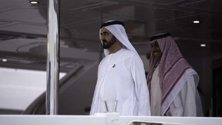 محمد بن راشد آل مكتوم يطل على دبي من ارتفاع شاهق!