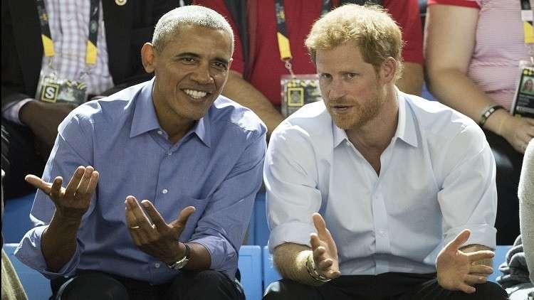 صحيفة: الحكومة البريطانية تطلب من الأمير هاري عدم دعوة أوباما لحفل زفافه