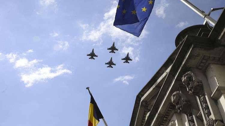 مقاتلات بلجيكية تعود إلى قواعدها بعد انتهاء مهامها في العراق