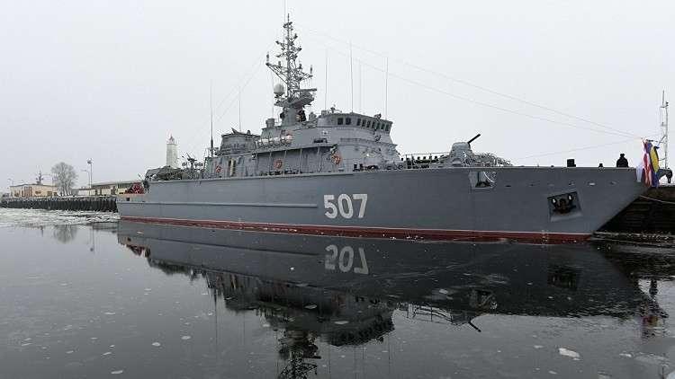 روسيا تعلن بدء إنشاء كاسحة الألغام الجديدة