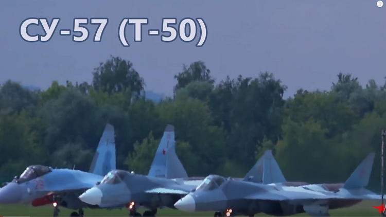 أول اشتباك جوي مفترض لطائرات الجيل الخامس الروسية