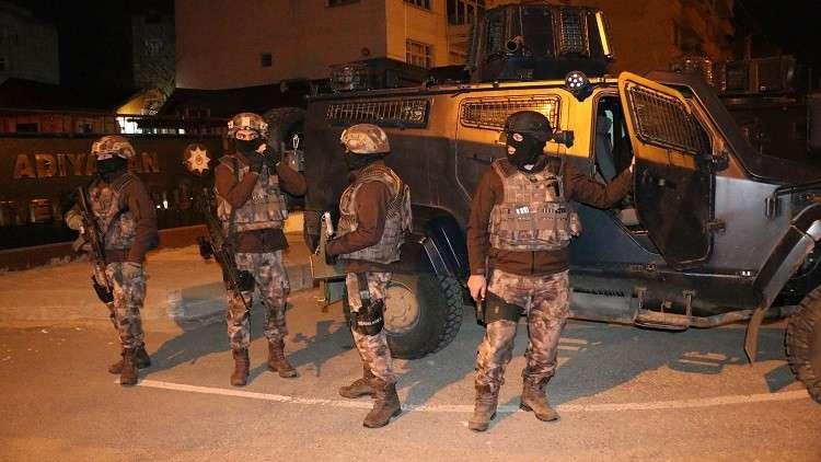 السلطات التركية تعتقل  170 شخصا بتهم الإرهاب