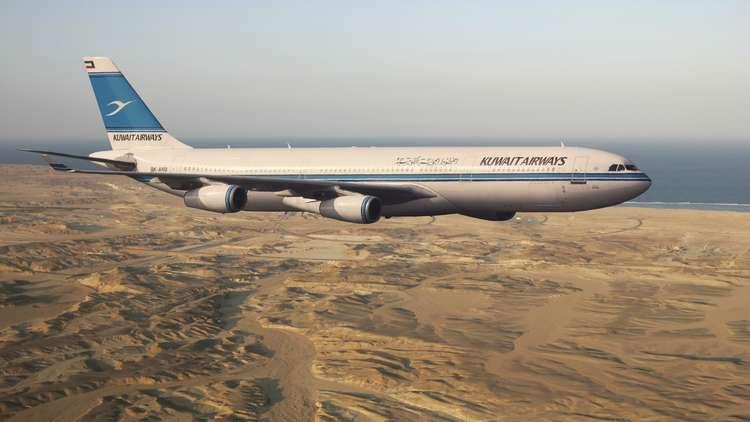 طائرة كويتية متجهة إلى قطر تعود أدراجها بشكل طارئ