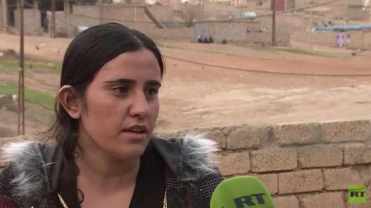 قصة سامية الإيزيدية وأخريات مع
