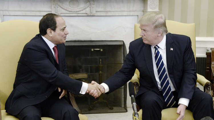 ترامب يؤكد تضامنه الكامل مع مصر