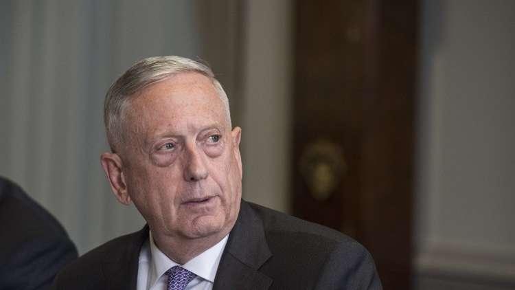ماتيس: لا ننوي تقسيم سوريا