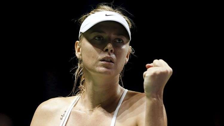شارابوفا تتعرف على أولى منافساتها في موسم التنس الجديد
