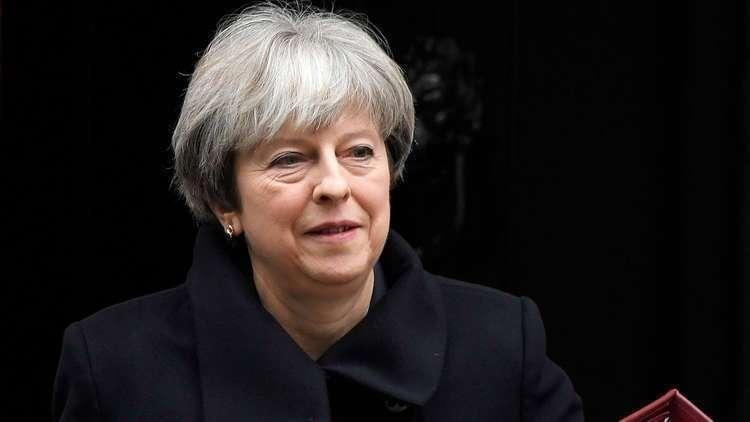 ماي: بريطانيا ستواصل التقدم في 2018