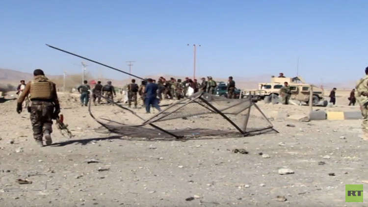 15 قتيلا على الأقل بتفجير انتحاري شرق أفغانستان