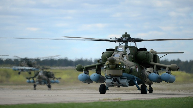 روسيا تعرض جيلا جديدا من طائراتها المروحية في 2018