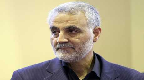 اللواء قاسم سليماني قائد فيلق القدس بالحرس الثوري الإيراني