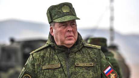 رئيس الأركان المشتركة لمنظمة معاهدة الأمن الجماعي الفريق أول أناتولي سيدوروف