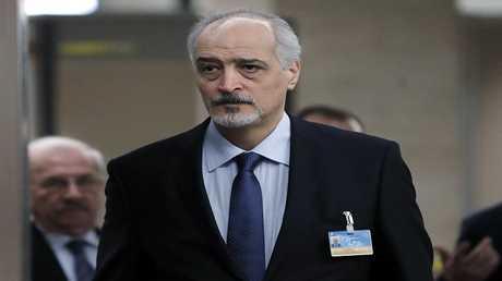 بشار الجعفري رئيس وفد الحكومة السورية إلى مفاوضات جنيف 8