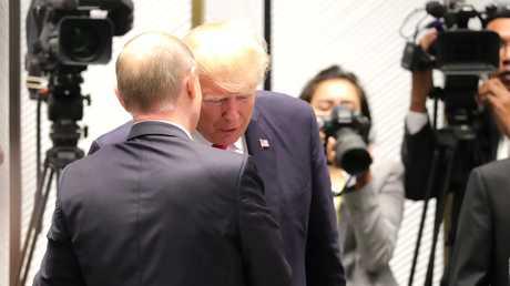 لقاء بين الرئيسين بوتين وترامب