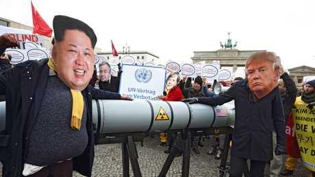 احتجاجات في برلين ضد تصعيد التوتر في شبه الجزيرة الكورية