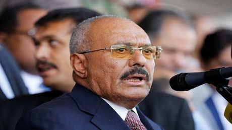 الرئيس اليمني السابق علي عبد الله صالح - أرشيف