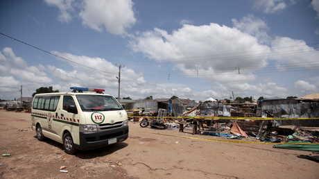 موقع عملية إرهابية في نيجيريا - صورة أرشيفية