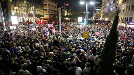 مظاهرات في إسرائيل احتجاجا على الفساد