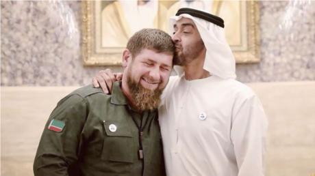 قاديروف في ضيافة محمد بن زايد آل نهيان