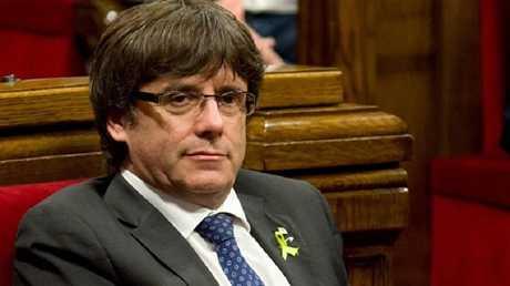 رئيس حكومة كتالونيا السابق كارليس بوتشديمون
