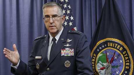 رئيس القيادة الاستراتيجية الأمريكية STRATCOM جون هايتن