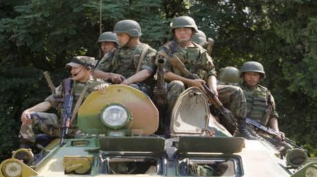 الجيش القرغيزي