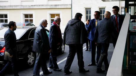 وصول الوفد الحكومي السوري إلى مفاوضات جنيف - أرشيف