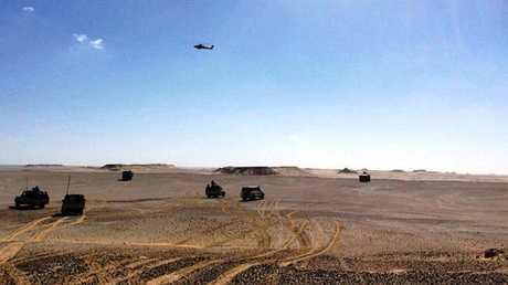 القوات المصرية - أرشيف -