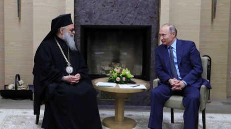 الرئيس بوتين يستقبل البطريرك يوحنا العاشر