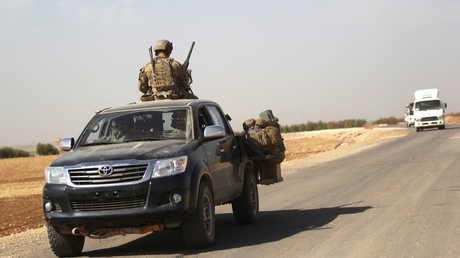 قوات أمريكية على الأراضي السورية - أرشيف
