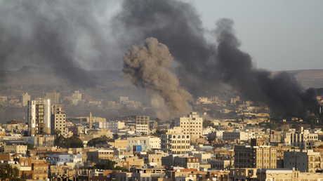 قصف التحالف العربي على صنعاء