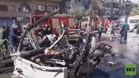 قتلى وجرحى في تفجير حمص